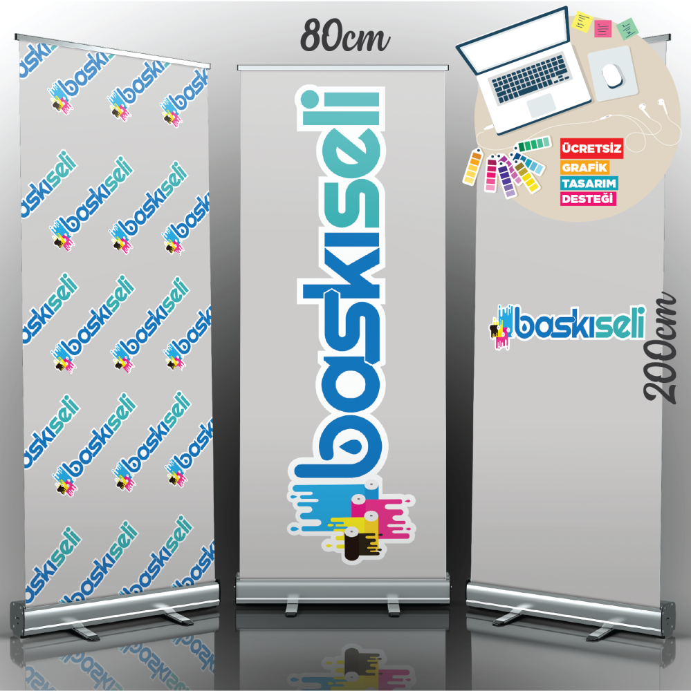 80x200 Rollup Banner