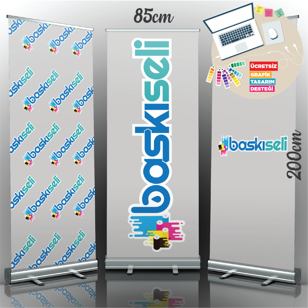 85x200 Rollup Banner